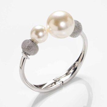 Double Pearl Trendy Bracelet