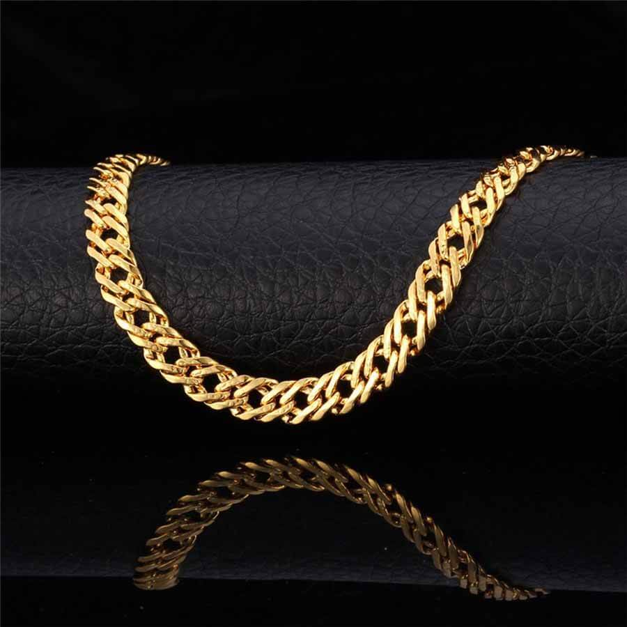 Men's Trendy 6 mm Italian Link Neck Chain