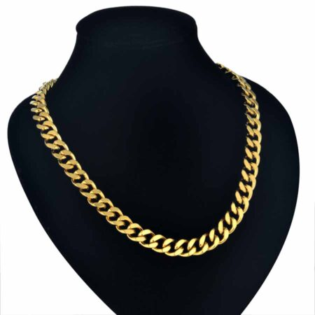 Gold. Men's Heavy Gold or Silver Neck Chain