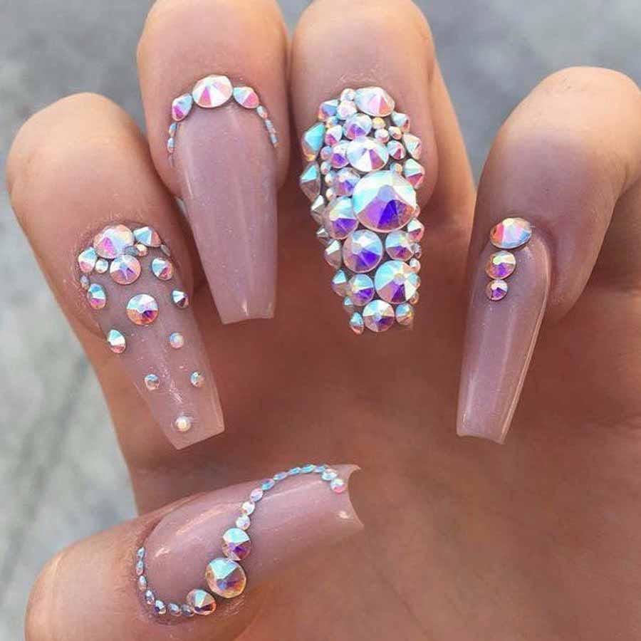 3d Nail Art Crystal Glitter Rhinestone Luvit Quality Products