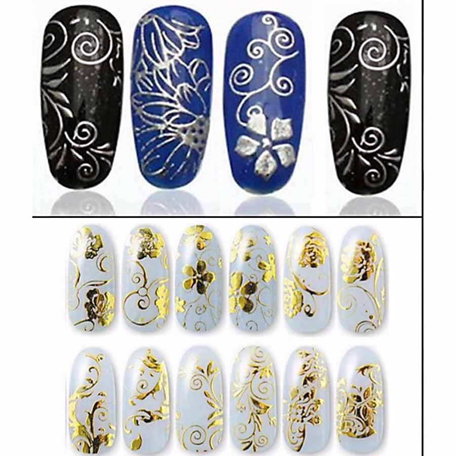 Nail Art Stickers 3D Designs.