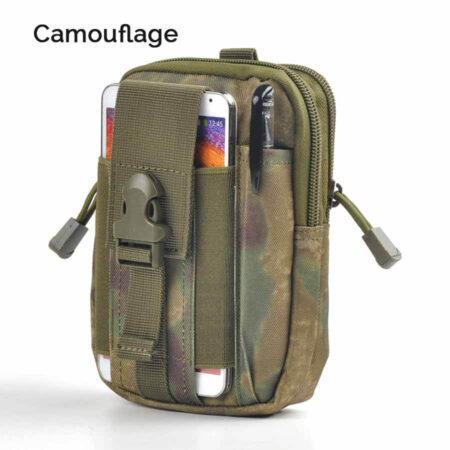 Camouflage Men's Waist Bag Water Resistant