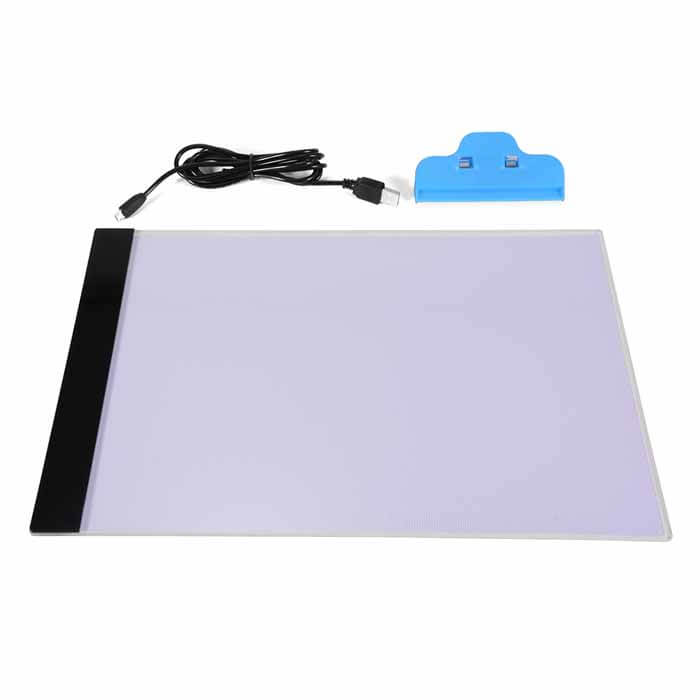 Includes - Tracing Pad Led Light A4 Ultra Thin