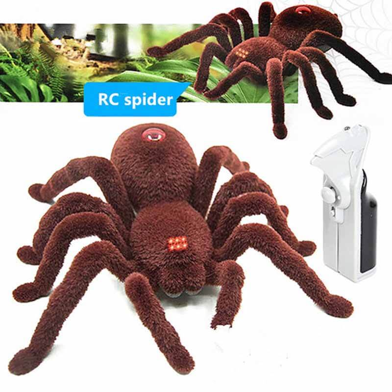 Remote Control Spider Soft Scary Tarantula
